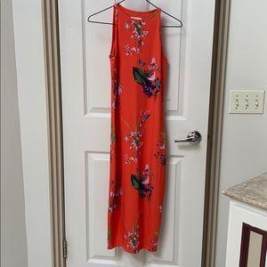 Floral Ted Baker maxi dress